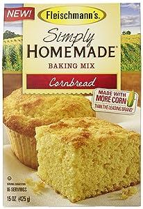 Fleischmanns Simply Homemade Cornbread Mix