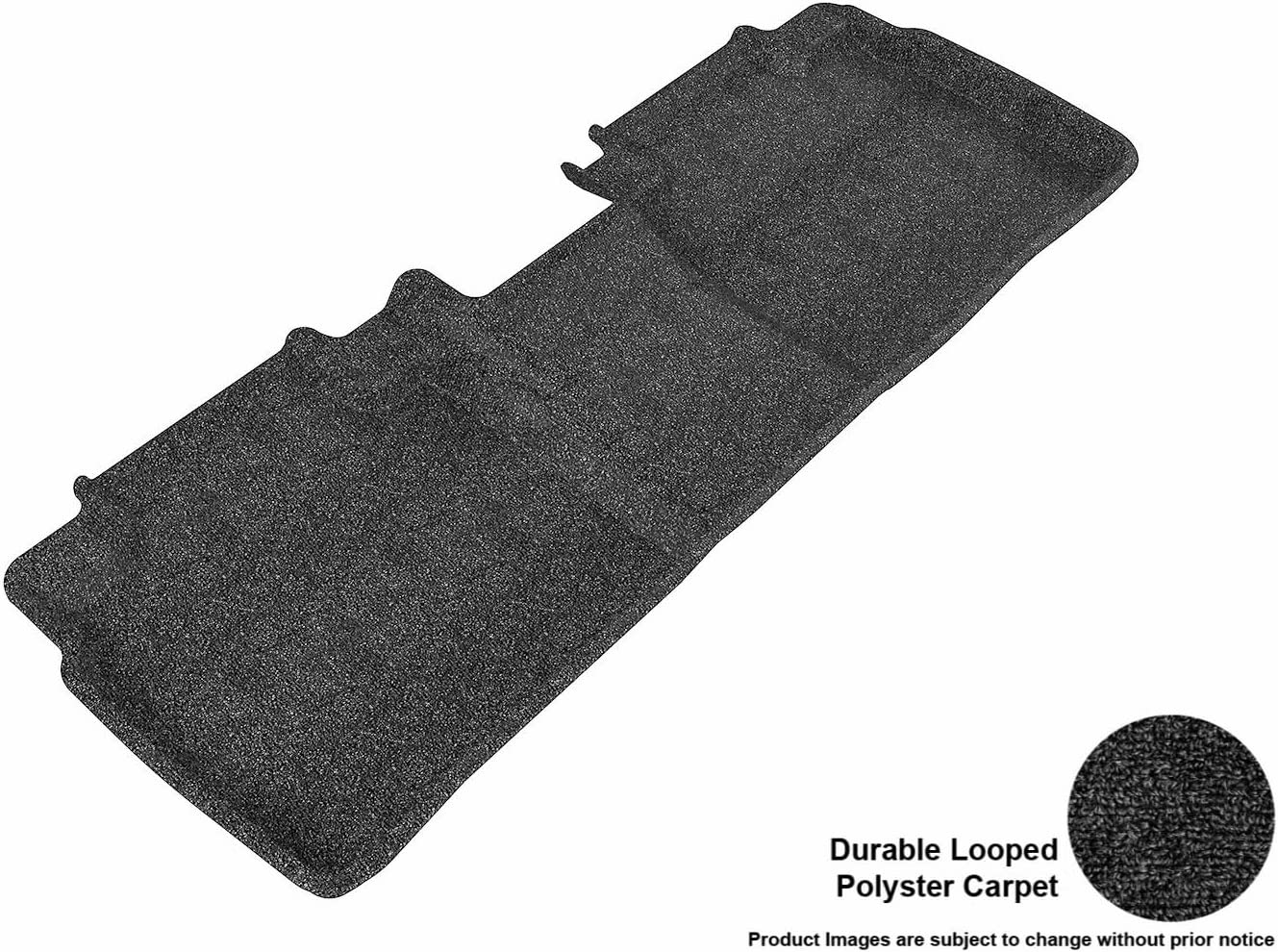 3D MAXpider Second Row Custom Fit Floor Mat for Select Toyota Camry Models L1TY08622201 Classic Carpet Gray