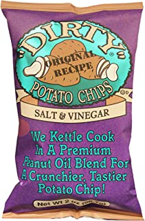 product image for Dirty Potato Chips Dirty Chips Salt & Vinegar 25 2 Oz Bags, 2 Oz