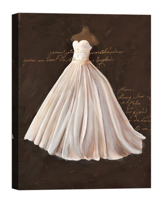 Rahmen Druck auf Leinwand mit Keilrahmen Stefano Cairoli Dressed in Weiß II 120x90 CM B07BTL1VQ8 | Ausgezeichnetes Preis