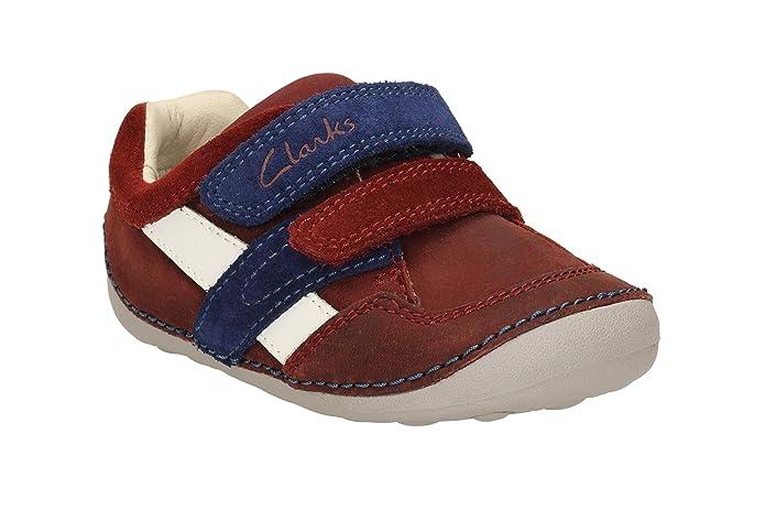 Clarks Tiny Zakk, Scarponcini da camminata ed escursionismo ragazzo marrone Brown, marrone (Brown), 18,5 EU H