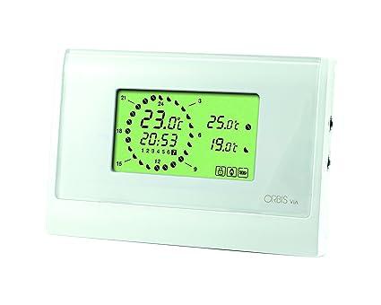 Orbis VIA 230 V exportaciones termostato, blanco, OB320510