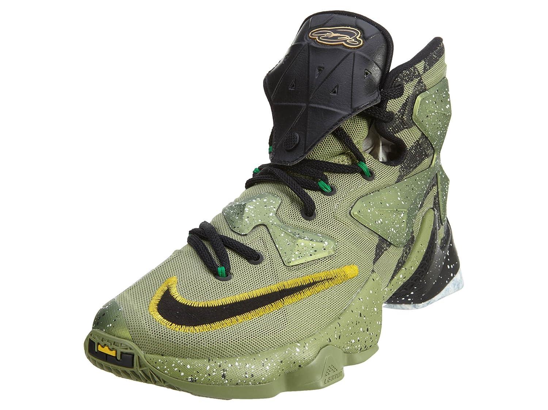 newest a8bc3 2bab1 Amazon.com   Nike Men s Lebron XIII Green Basketball Shoe - 11.5 D(M) US    Fashion Sneakers