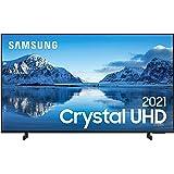 """Samsung Smart TV 50"""" Crystal UHD 4K 50AU8000, Painel Dynamic Crystal Color, Design slim, Tela sem limites, Visual Livre de Ca"""