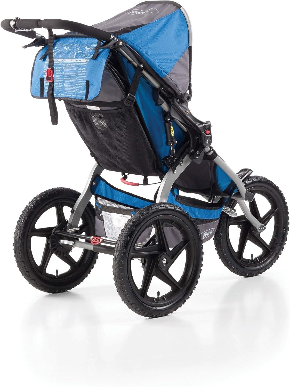 Cochecito todoterreno de 3 ruedas color azul cielo y gris BOB Sport Utility Stroller