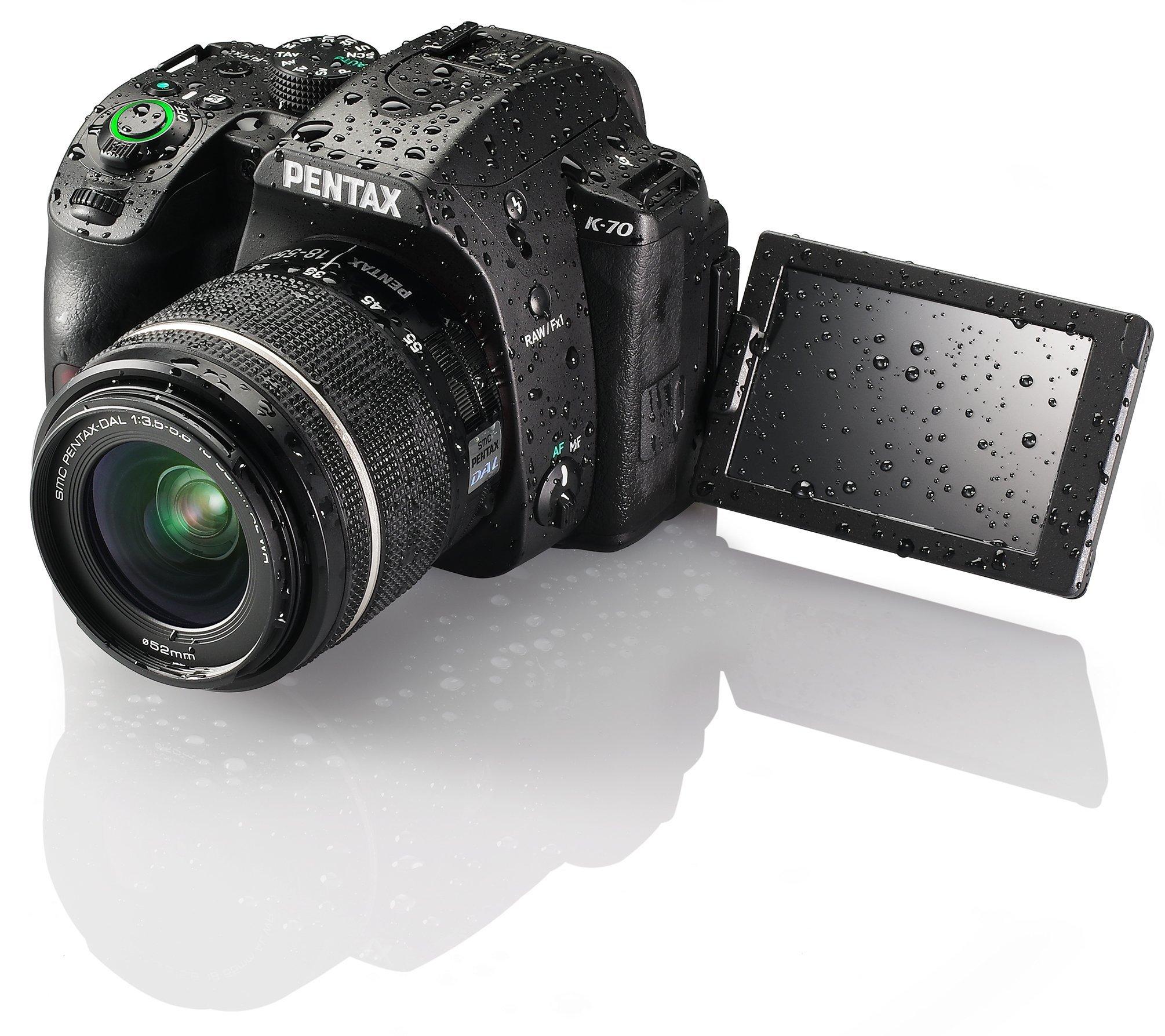 Pentax K-70 Weather-Sealed DSLR Camera, Body Only (Black) by Pentax (Image #5)