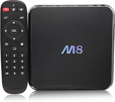 M8 Quad Core Android 4.4 Smart Set Top TV Box XBMC 3D Blu-ray 4K Streaming