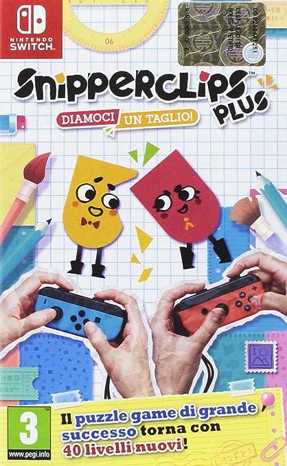 3 opinioni per Nintendo Switch Snipperclips Plus: Diamoci un taglio!
