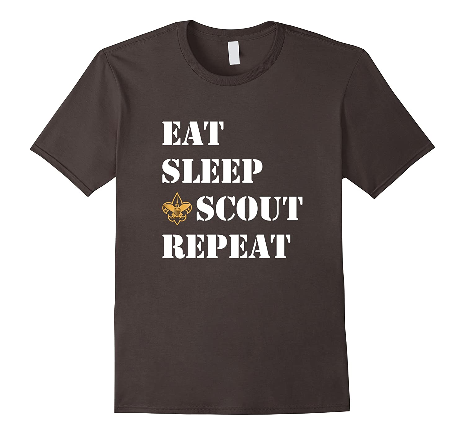 Eat Sleep Scout Repeat T Shirt - 20444-TH