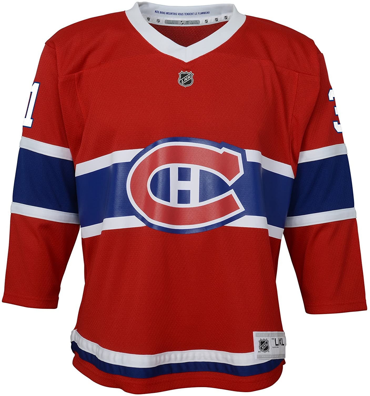NHL boys Carey Price Replica Jersey-home