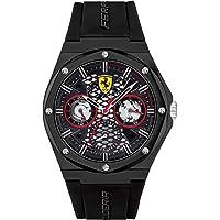 Scuderia Ferrari Men's Analog Quartz Watch with Silicone Strap 830785