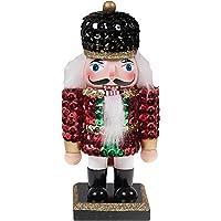 Clever Creations - Cascanueces rechoncho de Navidad Coleccionable