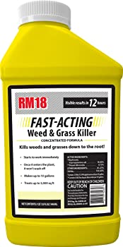RM18 Fast-Acting Weed & Grass Killer Herbicide