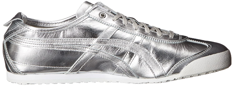 Onitsuka Tiger Mexico 66 Fashion Sneaker B00PV05LLW 14 M US US Women / 12.5 M US US Men|Silver/Silver 03402c
