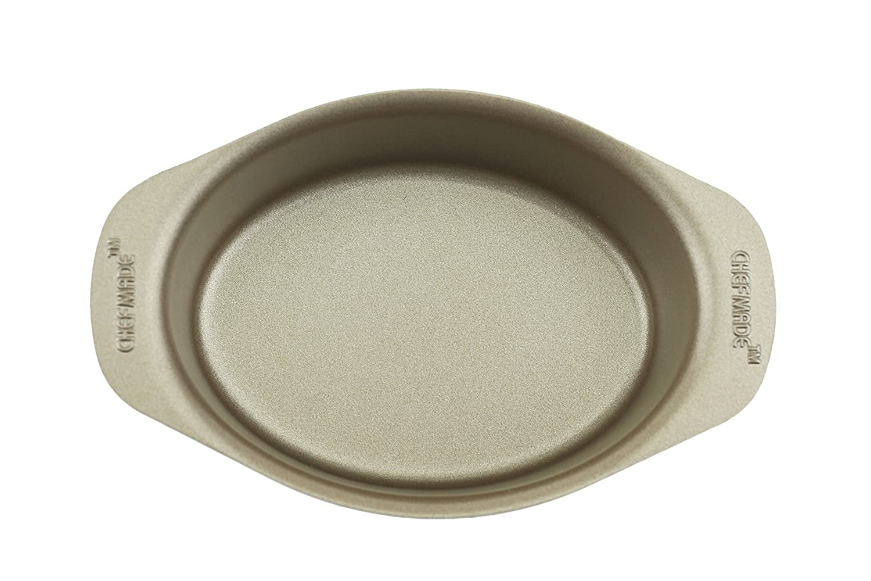 Excelity Non Stick Cake Mold Cheese Toast Baking Pan (Mini Oval)