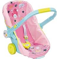 BABY Born 824412 Schalensitz mit Rädern Puppen Fahrradsitz, bunt, Einheitsgröße