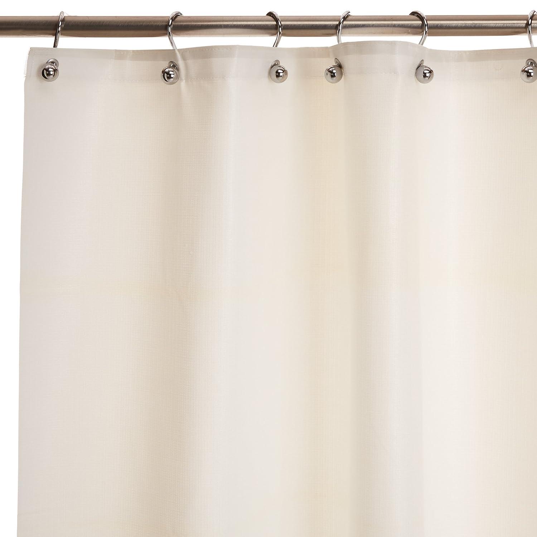 Bradley 9537 727200 Vinyl Antimicrobial Shower Curtain 72 Width X Length White