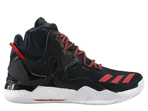 adidas Derrick Rose 7 Zapatillas de baloncesto para niños, negro y rojo: MainApps: Amazon.es: Deportes y aire libre