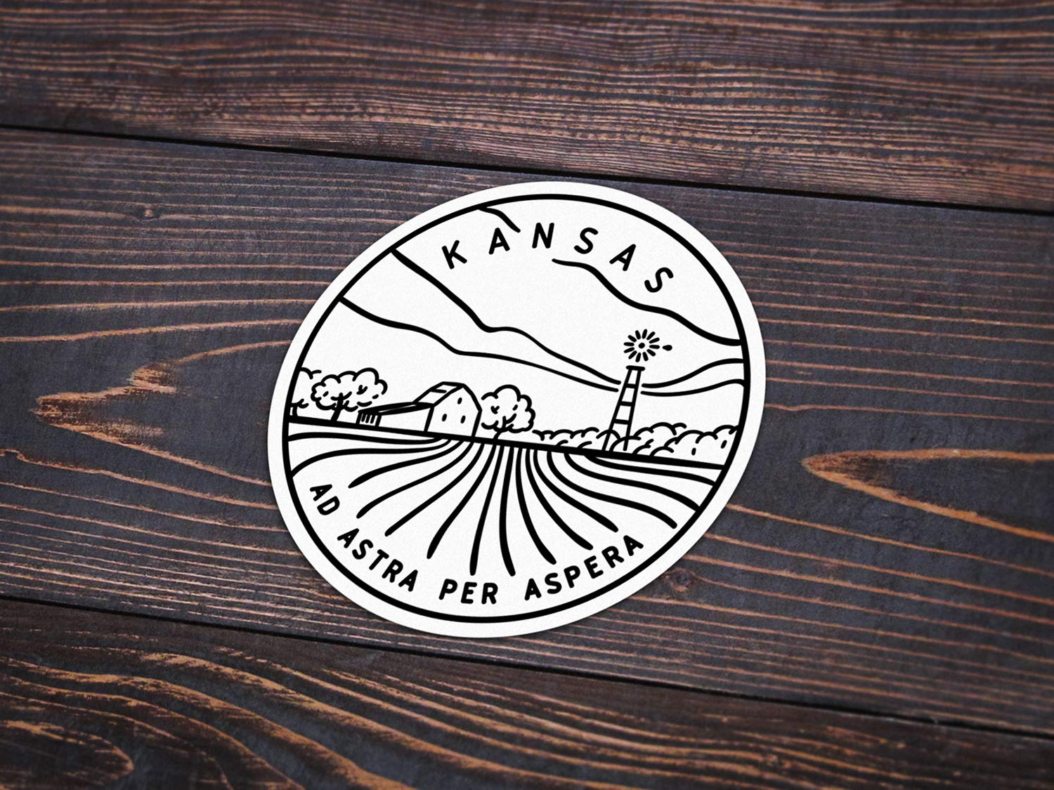 Kansas Sticker 3
