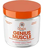 Genius Muscle Builder – Best Natural Anabolic Growth Optimizer for Men & Women | True Weight Gainer Supplement for Steel…