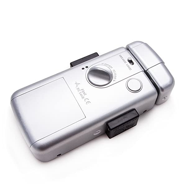 Intelligent Electronic lock, maximum security and invisible, with 3 controls. Silver color. Manufactured by SELOCKEY. - - Amazon.com