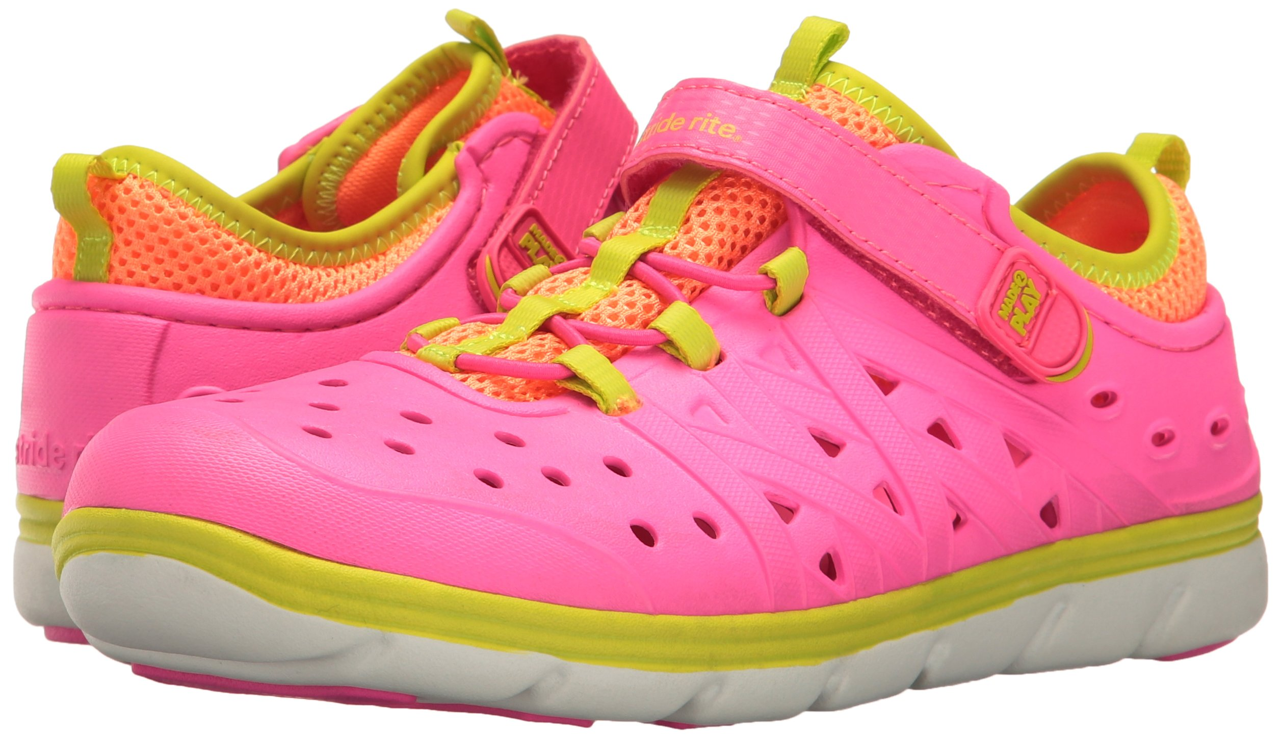 Stride Rite Girls' Made 2 Play Phibian (Toddler/Little Kid), Pink, 10 M by Stride Rite (Image #2)
