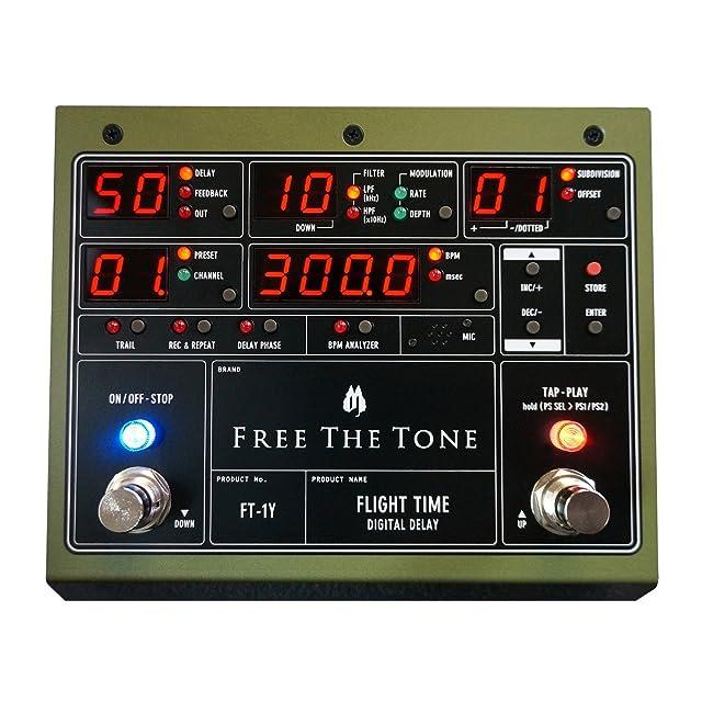 エフェクター画像 Free The Tone FLIGHT TIME FT-1Y