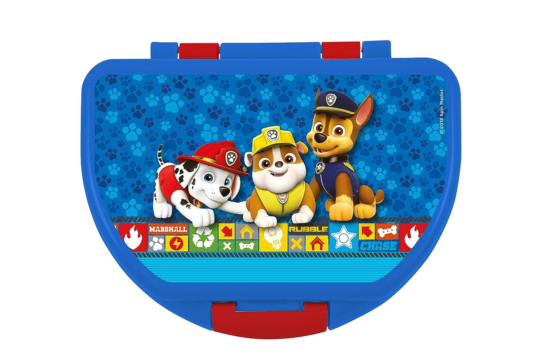 Trinkflasche Brotdose Paw Patrol Kindergarten Set Rucksack
