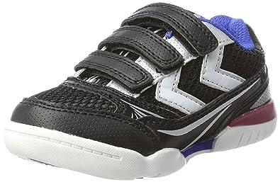 hummel HUMMEL ROOT JR - Zapatillas infantil, Negro (Black), 30 EU