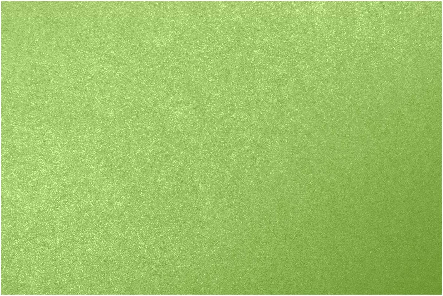 LUXPaper A7 Flat Cards in 105lb Fairway Metallic for Crafts and Office Supplies Cards 250 Pack Scrapbook Green