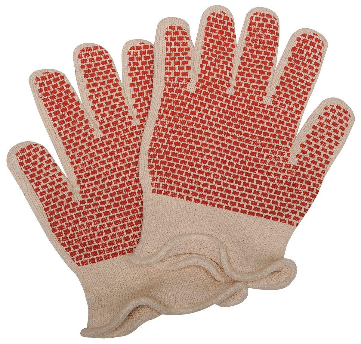 Heat Resistant Gloves PR L White//Rust