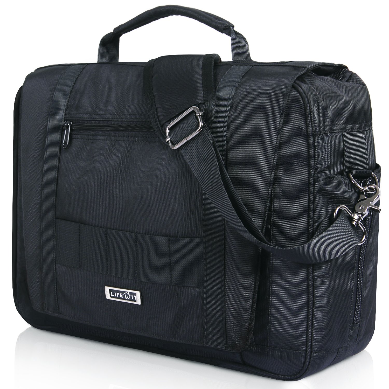 Lifewit 15.6 Inch Men's Tactical Briefcase Military Laptop Messenger Bag Multi-Functional Shoulder Computer Business Handbags