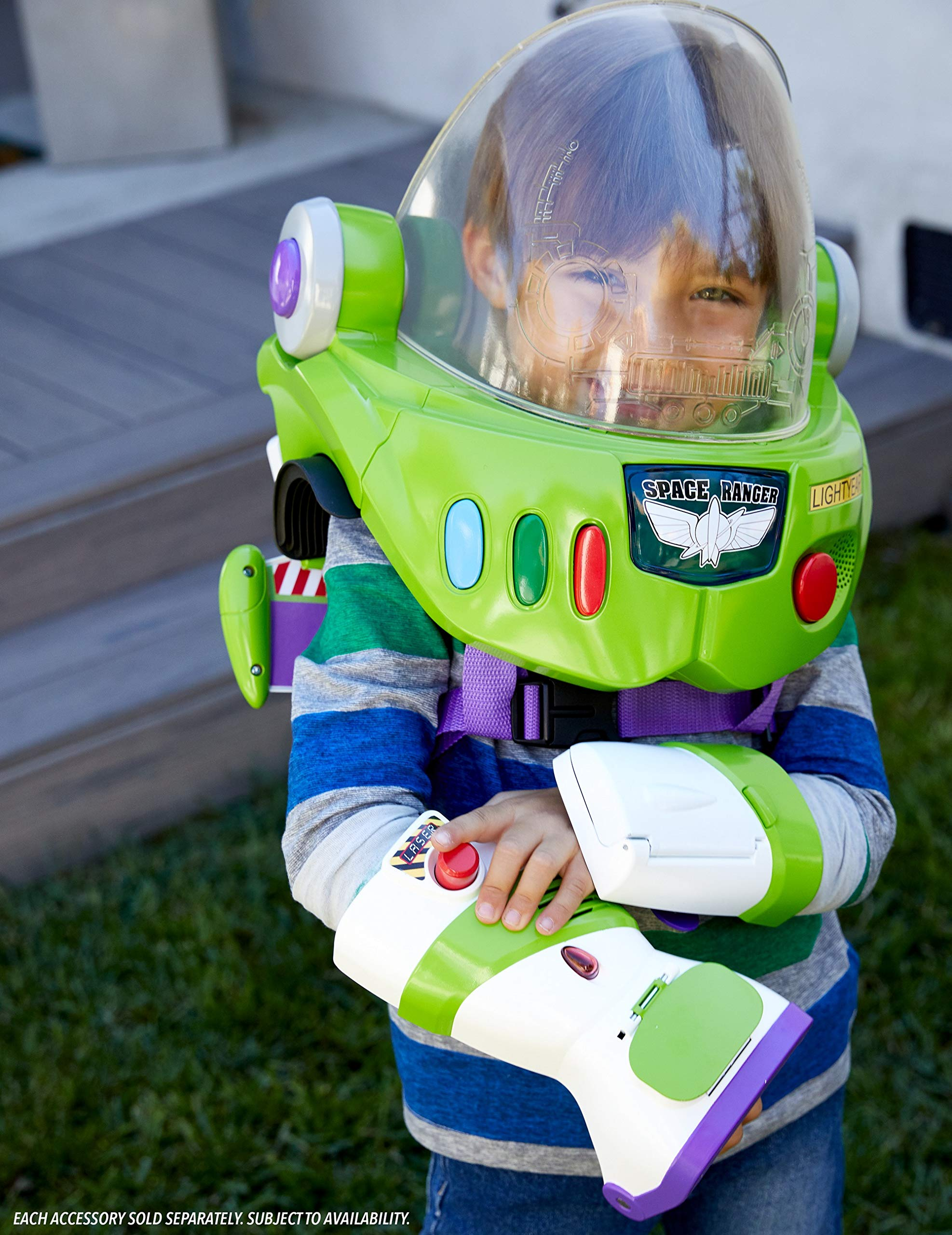 Toy Story Disney Pixar 4 Buzz Lightyear Space Ranger Armor with Jet Pack by Toy Story (Image #14)