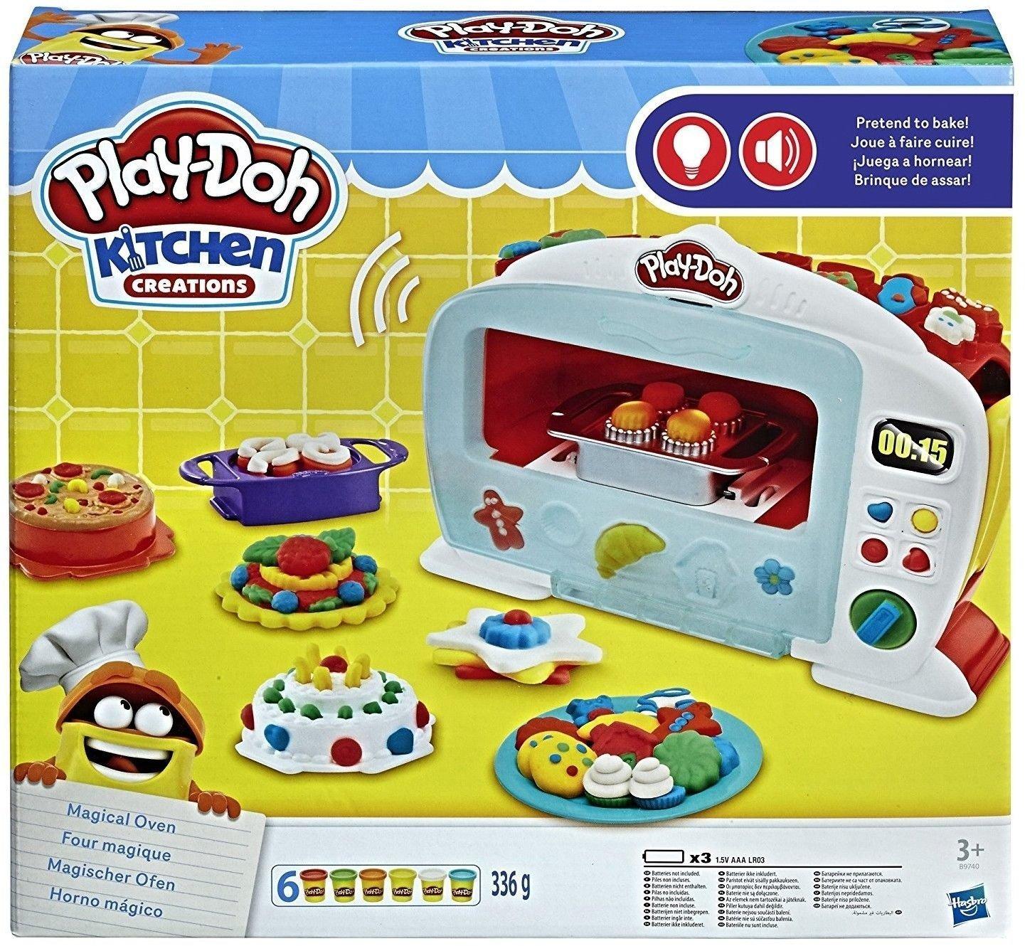 Play-Doh Kitchen Creations Magischer Ofen mit Lichtern und Geräuschen