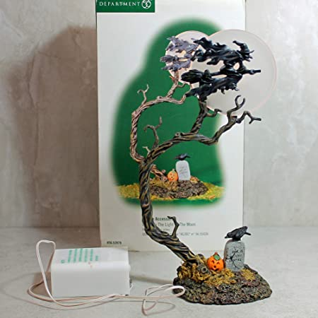 Dept 56 Witch By the Light of the Moon Village Accessories