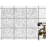 adesivi murali in pvc autoadesivo piastrelle sticker