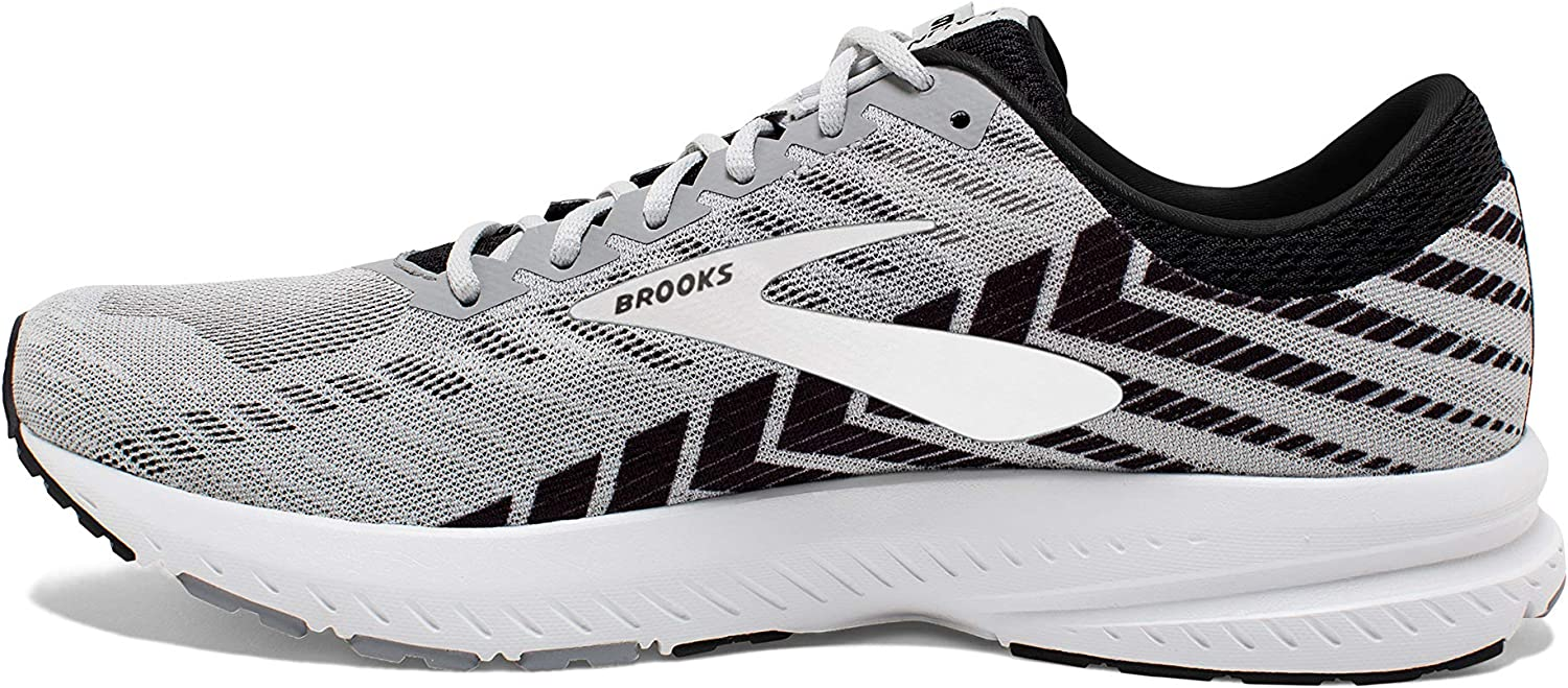Brooks Men's Launch 6 Running Shoes Alloy Black Grey