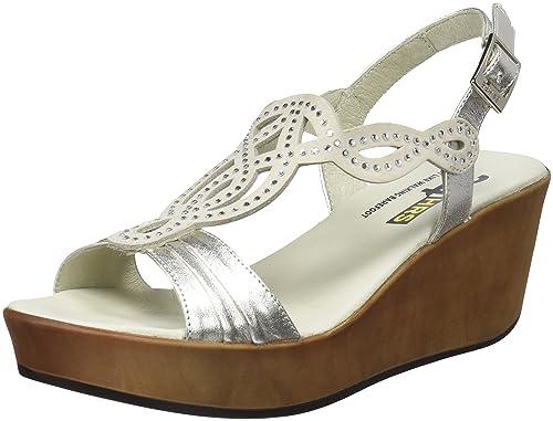 24 HORAS 23656, Sandalias con Plataforma para Mujer, (Beige 1), 39 EU: Amazon.es: Zapatos y complementos