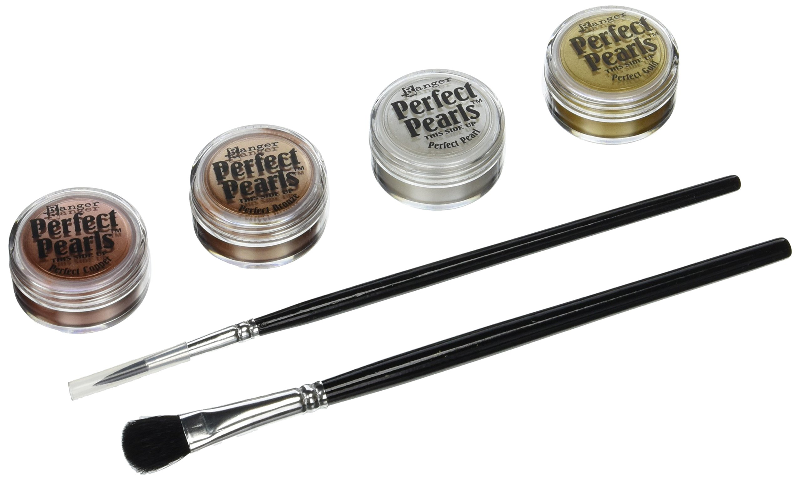 Ranger Perfect Pearls Embellishment Pigment Kit, Metallics (PPP-KIT-15963)
