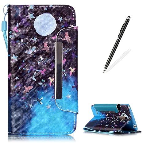 Amazon.com: LG G4 Stylus/LG LS770 Premium Funda de piel ...