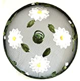 Fine Mesh Food Cover With Daisy 30cm By Gisela Graham by Gisela Graham