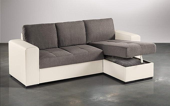 Dafnedesign.com - Sofá cama esquinero de 2 plazas, piel ...