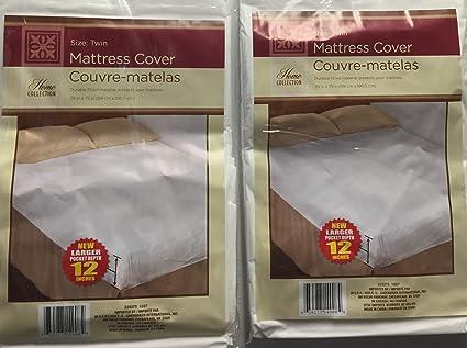 Amazon Com Twin Size Waterproof Mattress Cover Hypoallergenic