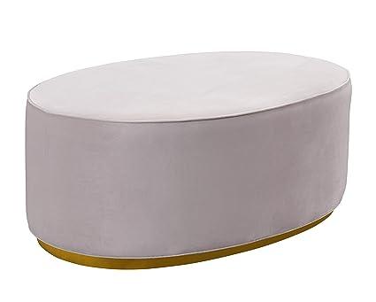 Oval Ottoman Coffee Table 10