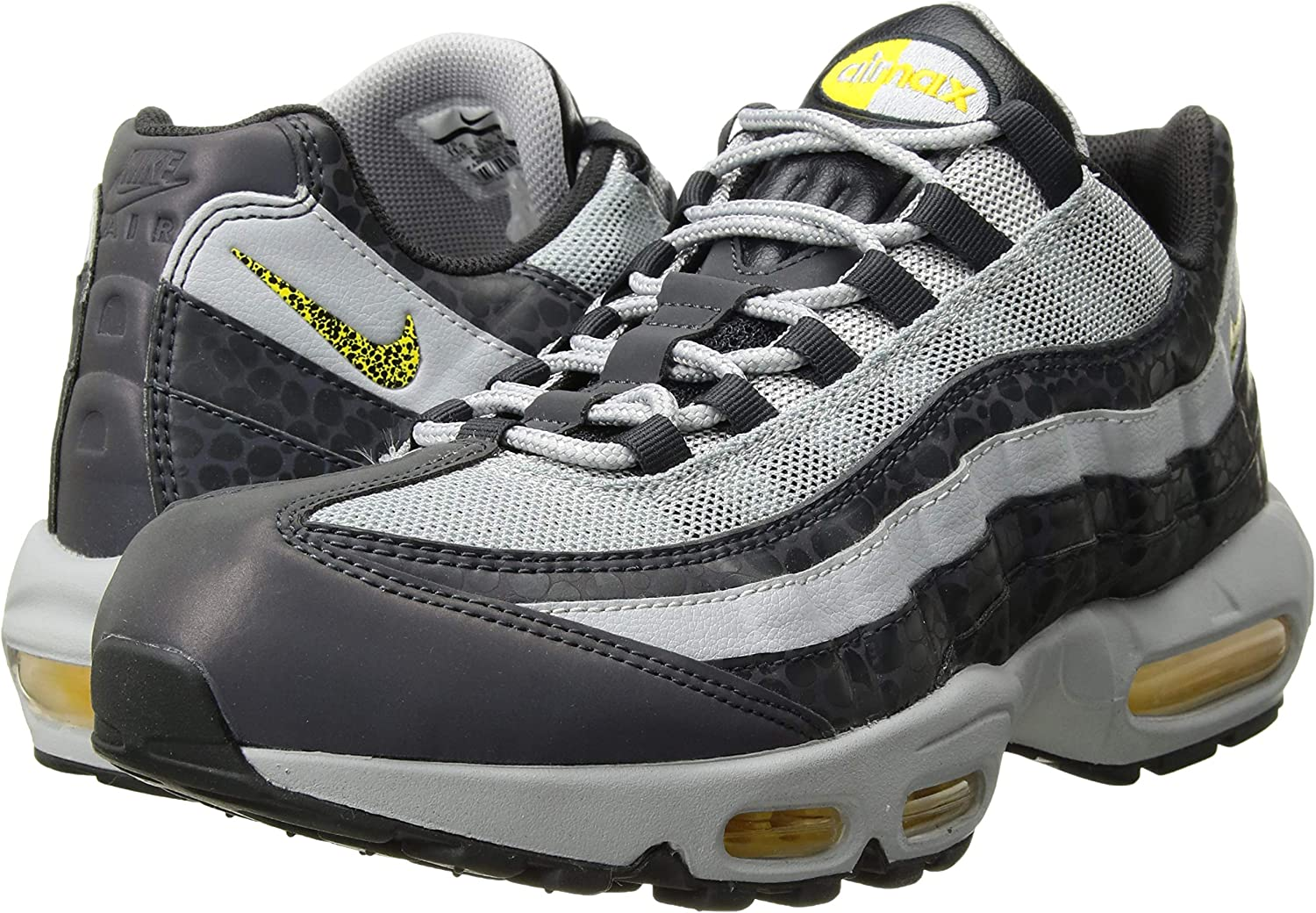 Nike Men's Air Max 95 Leather Cross Trainers Shoes: Amazon