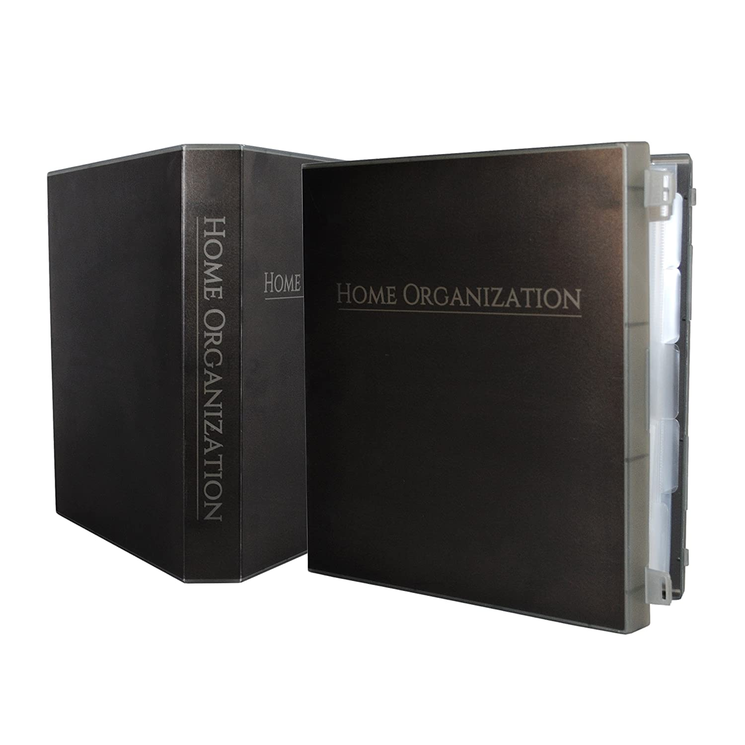 UniKeep Home Organization Binder/Storage Box with Guides and Checklists to Keep All Your Key Information in One Place