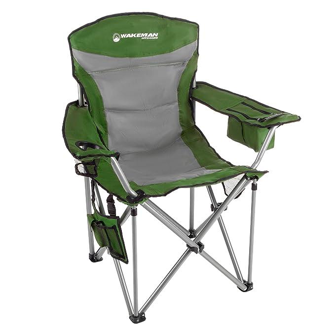 Amazon.com: Wakeman – Silla de camping para uso al aire ...