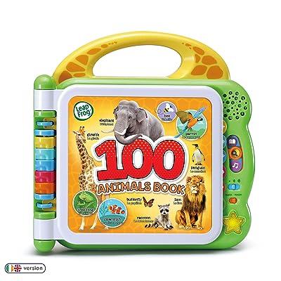 LeapFrog 609543 100 Animals Book, Multicolour: Toys & Games