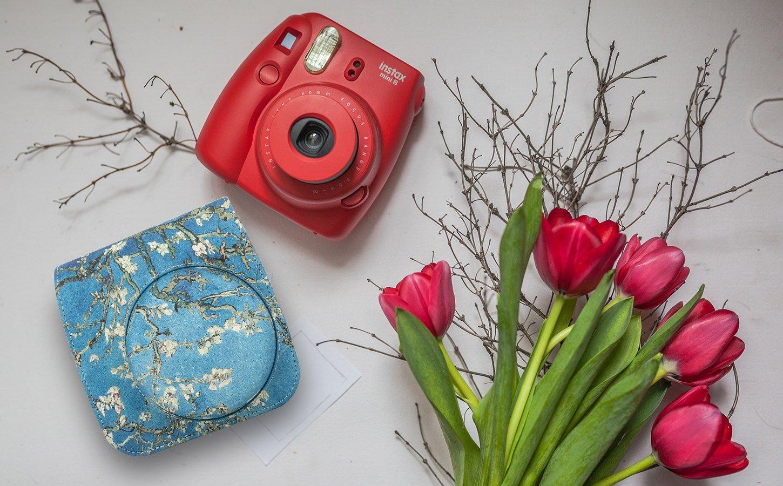 Fujifilm Instax Mini 8 Mini 9 Protecteur Sac de protection pour appareil photo pour Fuji Mini 8 8+ Mini 9 Aquarelle MoKo /Étui pour Appareil Photo