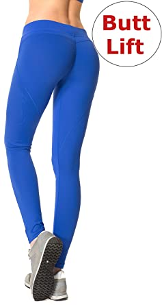 393dfc96c3e99 RUNNING GIRL Sexy Butt Lift Push Up Leggings Yoga Pants Shapewear Skinny  Tights  Amazon.co.uk  Clothing